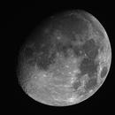 Moon - 20210224 - Meade 2045D at F4,                                altazastro