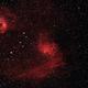 IC 405 Flaming Star Neubla,                                v3ngence