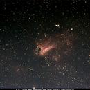 Messier 17  Omega Nebula,                                Bruce Donzanti