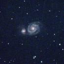 M51 Whirlpool Galaxy,                                James Markgraf
