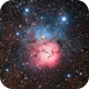 The Trifid Nebula,                                DiscoDuck