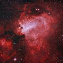 M17 Omega Nebula,                                Morris Yoder