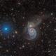 Whirlpool Galaxy (Messier 51),                                Miles Zhou