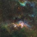 Statue of Liberty - NGC 3576,                                Adam Jesionkiewicz