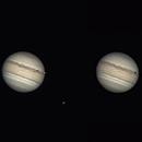 Jupiter, Io + Ganymede,                                Alfred Leitgeb