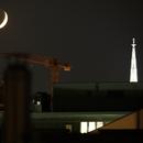 New Moon with earthlight,                                Sharif