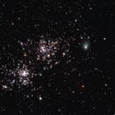 C/2017 t2 Panstarrs meet Perseus Cluster,                                AstroMarcin