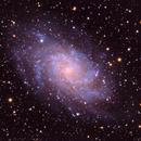 M33 Galaxy in Triangulum,                                Michael Finan