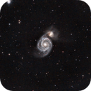 M51 - Whirlpool Galaxy,                                zagers