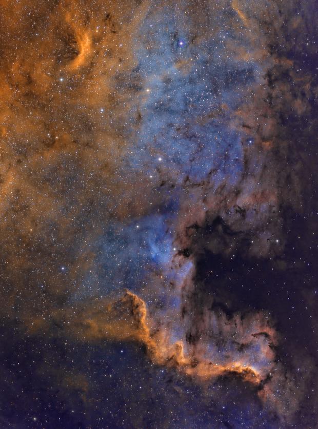 NGC7000 in SHO,                                wowa