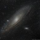 M31 - Andromeda Galaxy HaLRGB,                                Richard Bratt