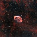 NGC6888-Crescent Nebula(HOO),                                Haoran Xu