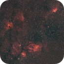 Bubble region in HaOIIIRGB,                                astrodoud
