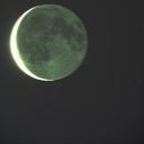 Moon & Earthshine,                                Bob Spannagel