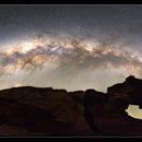 Natures Window under the Milky Way,                                Roger Groom