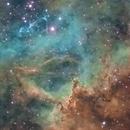 Still More Details in the Heart of the Rosette Nebula,                                Tony Licata