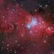 The Cone nebula in Monoceros,                                Francesco Meschia