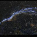 Veil Nebula West,                                Andre van Zegveld