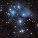 M45 Pleiades - LRGB,                                vsola