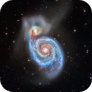 M51 Whirlpool Galaxy,                                Jeff Weiss