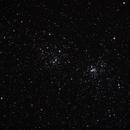 Double Cluster NGC869 + NGC884,                                AstroEdy