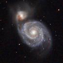 M51-NGC 5195,                                Filippo Bonfante