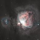 M42 Orion Nebula HaRGB,                                Allen Koenig