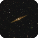 NGC 891 the Silver Sliver Galaxy in Andromeda,                                Mark Wetzel