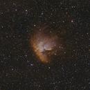 HaOIII Bicolor - DSLR - NGC281,                                Arno Rottal