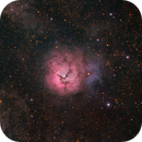 M20 - Trifid Nebula HaRGB,                                Janco