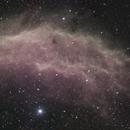 NGC 1499 The California Nebula - Two Panel Mosaic,                                Earle Waghorne