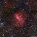NGC 7635 BUBBLE NEBULA HA-LRGB,                                Themis Karteris