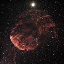 IC443, la nébuleuse de la méduse,                                Cédric Thomas
