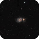 M51a and NGC 5194,                                Brian Preston
