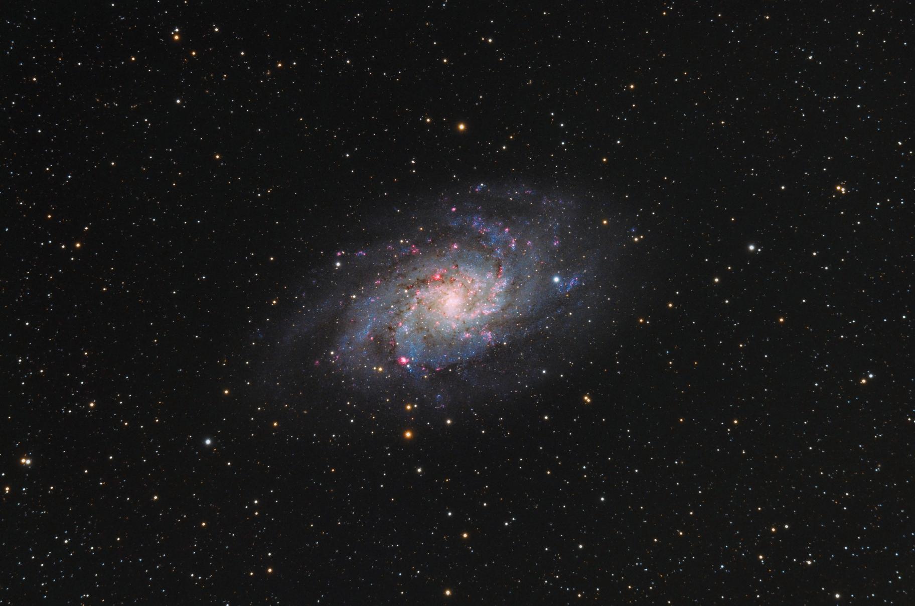 M33 / Triangulum Galaxy,                                Marcin