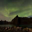 Aurora Borealis on Lofoten island,                                Thilo Frey