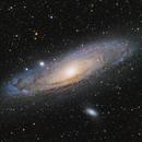 M31 The great Andromeda Nebula | HaLRGB,                                Felix