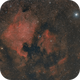 NGC7000 au Canon 300 F4 IS,                                Jean-Pierre Bertrand