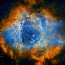 Rosette Nebula,                                Cybermayberry