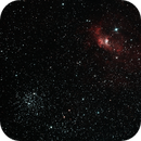 NGC7635 - M52,                                Csoknyai Attila