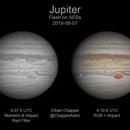 Jupiter SEBs Impact,                                Chappel Astro