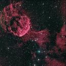 JellyFish Nebula,  5 panel Mosaic,                                Doug Lalla