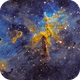 Melotte 15 at the Core of the Heart Nebula in SHO,                                CrestwoodSky