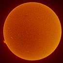 Sun in H-Alpha  @ 0.5Angstroem February 24th 2021,                                Thomas Klemmer