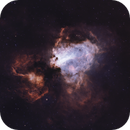 M17 Omega Nebula HHO,                                Michael Gorman