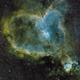 Heart Nebula IC 1805,                                Harri Kiiskinen
