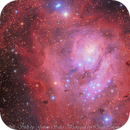 M8 ONE SHOT COLOR By Astronomical Society of Victoria, Australia,                                Diego Colonnello