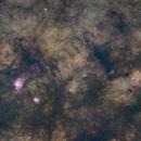 Milky Way from the Lagoon to the Eagle,                                Vencislav Krumov