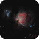 M42 and M43 Great Nebula in Orion,                                Angelillo