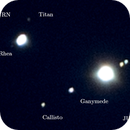 2020 Great Conjunction of Jupiter & Saturn (Close-up) -- Nikon D5300 & 200 mm Telephoto lens,                                Nick Large